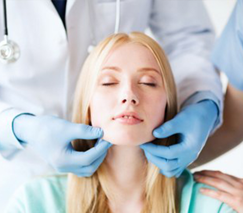Lady Dental Patient in Texas